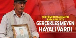 Babası şehit Ömer Halisdemir'i anlattı