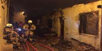 korkutan yangın: 1 ev kül oldu!