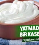 Yatmadan önce bir kase yoğurt yerseniz…