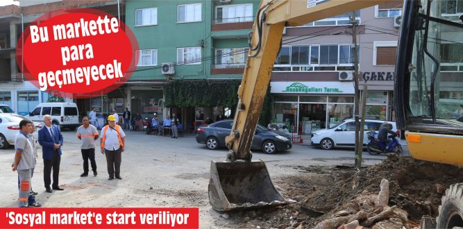 'Sosyal market'e start veriliyor