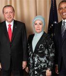 Obama ve Erdoğan'dan aile fotoğrafı