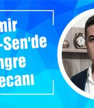 İzmir Sağlık-Sen'de kongre heyecanı