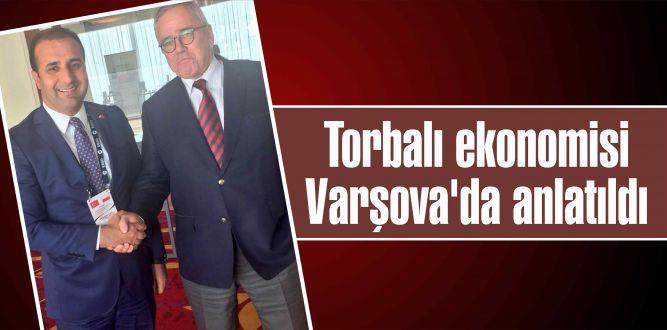 Torbalı ekonomisi Varşova'da anlatıldı