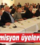 Yeni komisyon üyeleri seçildi
