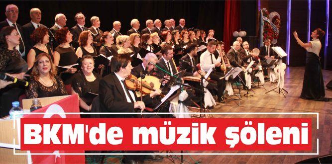 BKM'de müzik şöleni