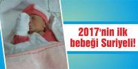 İlk bebek Suriyeli!