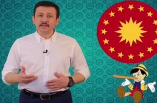 AK Partili Dağ'dan video propaganda