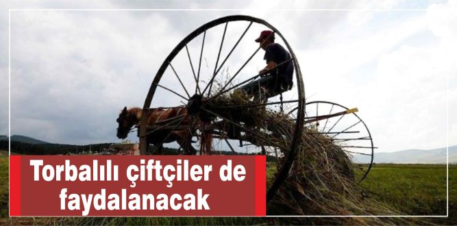 Torbalılı çiftçiler de faydalanacak