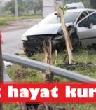 Kaza, trafiği karıştırdı