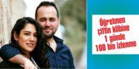 Öğretmen çiftin klibine 1 günde 100 bin izlenme