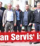 'Korsan Servis' isyanı