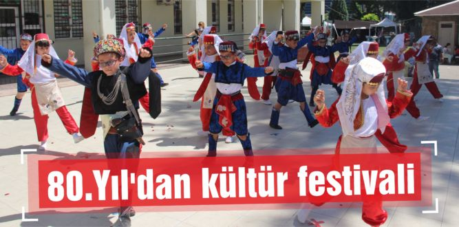 80.Yıl'dan kültür festivali