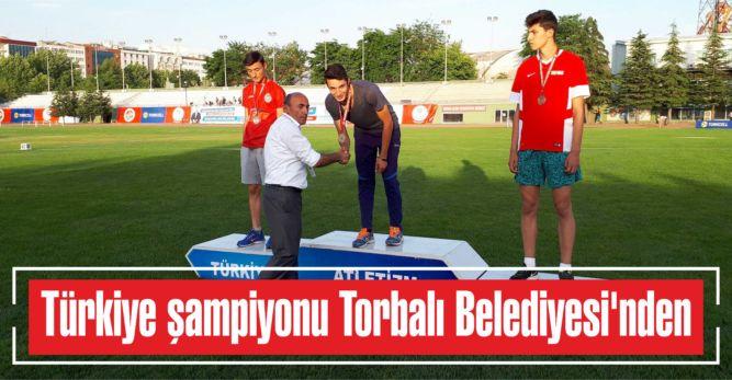 Türkiye şampiyonu Torbalı Belediyesi'nden…