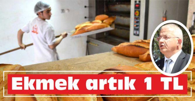 Ekmek artık 1 TL