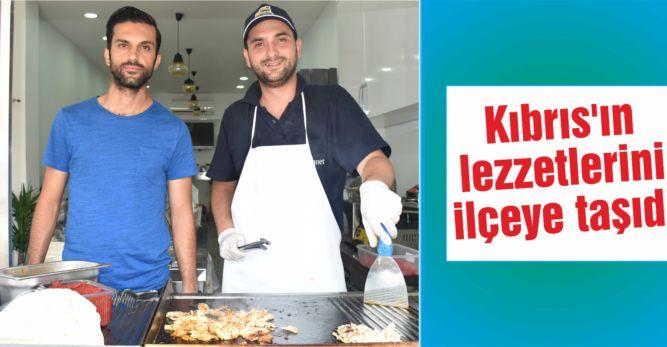 Kıbrıs'ın lezzetlerini  ilçeye taşıdı