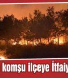 Bayındır'daki yangına karşı büyük seferberlik