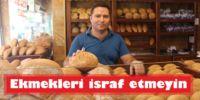 Ekmekleri israf etmeyin