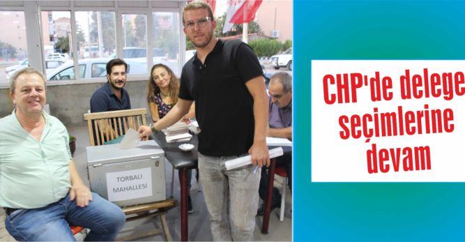 CHP'de delege seçimlerine devam