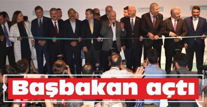 Başbakan açtı