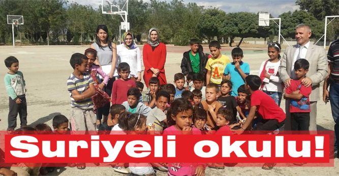 Suriyeli okulu!