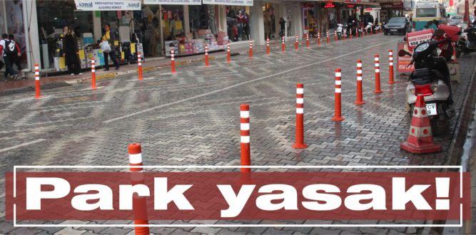 Park yasak!