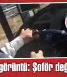 Skandal görüntü: Şoför değil kasap!