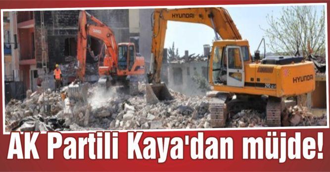 AK Partili Kaya'dan müjde!