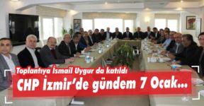 Toplantıya İsmail Uygur da katıldı