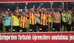 Göztepe'den Torbalılı öğrencilere unutulmaz jest!