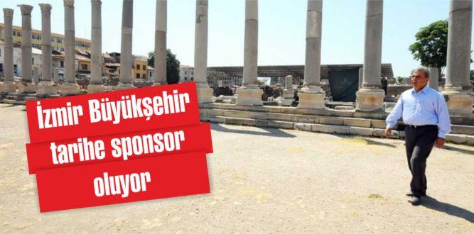 İzmir Büyükşehir tarihe sponsor oluyor