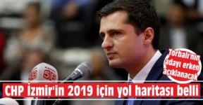 CHP İzmir'in 2019 için yol haritası belli
