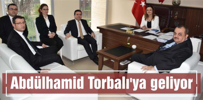 Abdülhamid Torbalı'ya geliyor