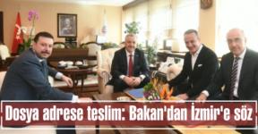Dosya adrese teslim: Bakan'dan İzmir'e söz