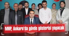 MHP, Ankara'da gövde gösterisi yapacak
