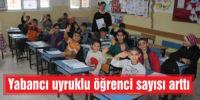 Yabancı uyruklu  öğrenci sayısı arttı