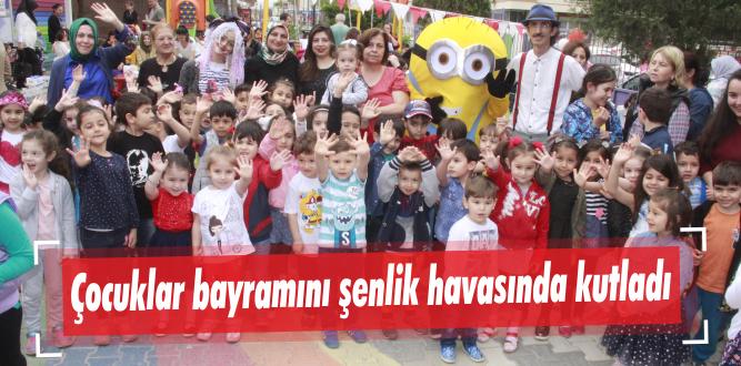 Çocuklar bayramını şenlik havasında kutladı