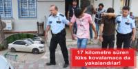 HIRSIZ KAÇTI, polis kovaladı!