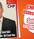 CHP'nin vekil listesi belli oldu
