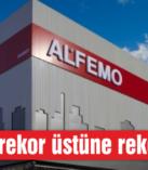 ALFEMO rekor üstüne rekor kırıyor