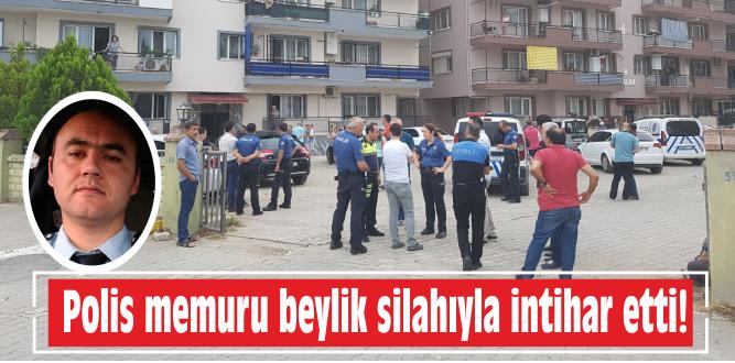 Polis memuru beylik silahıyla intihar etti!