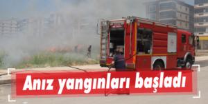 Anız yangınları başladı