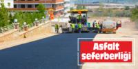 Subaşı'dan Ayrancılar'a her yerde asfaltlama