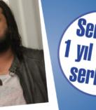 Serbes, 1 yıl sonra serbest