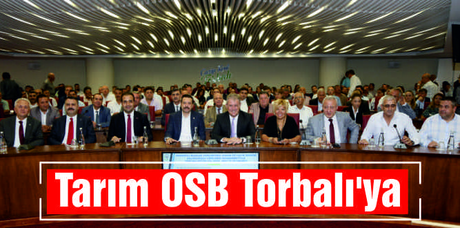 Tarım OSB Torbalı'ya