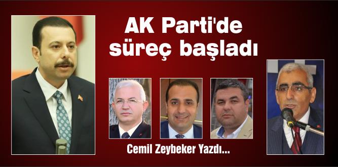 AK Parti'de süreç başladı
