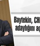 Baytekin, CHP'den aday adaylığını açıklayacak