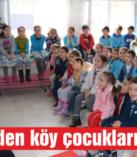 Belediye'den köy çocuklarına tiyatro