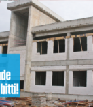 Yeni Diş Hastanesinde  kaba inşaat bitti!