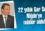 22 yıllık Gar Şefi,  Niğde'ye müdür oldu!