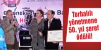 Torbalılı yönetmene 50. yıl şeref ödülü!